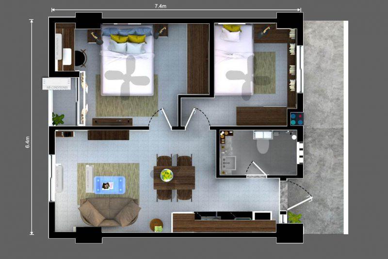 2702 Bedrooms